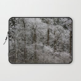 Snow Dusted Trees, No. 2 Laptop Sleeve