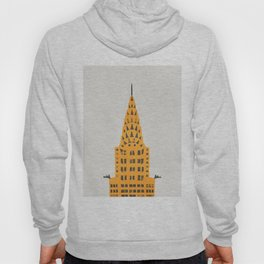 Chrysler Building New York Hoody
