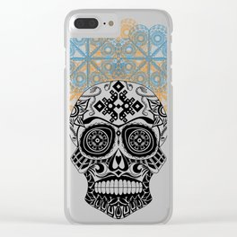 Mexican catrina Clear iPhone Case