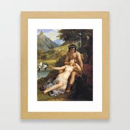 Vacanze romane Framed Art Print