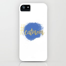 #CATMOM iPhone Case
