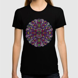 Flower Power Doodle Art T-shirt