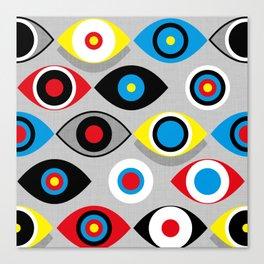 Eye on the Target Canvas Print