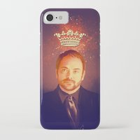crowley iPhone & iPod Cases featuring Crowley - Supernatural by KanaHyde