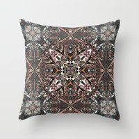 kilim Throw Pillows featuring Kilim by András Récze