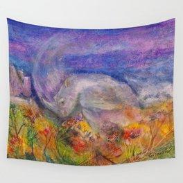 Rhino Wave Wall Tapestry