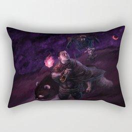 mid-nox cool breeze Rectangular Pillow