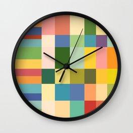 Soft Color Gradient Wall Clock