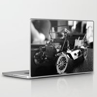 model Laptop & iPad Skins featuring Model-T model car by Alma Vargas