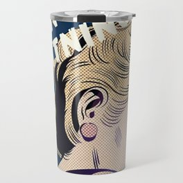 Crying Lightning Arctic Monkey Fan Art Travel Mug