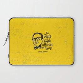 Murray Rothbard Illustration Laptop Sleeve