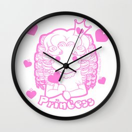 Kawaii Kiddies Cute Princess Wall Clock