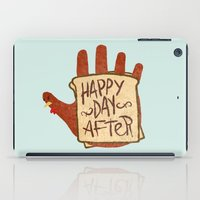 turkey iPad Cases featuring TURKEY SAMMIDGES by Josh LaFayette