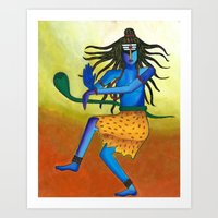 Nataraja Art Print