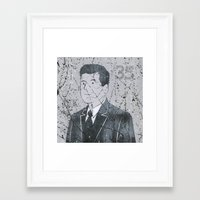 jfk Framed Art Prints featuring JFK by Doren Chapman