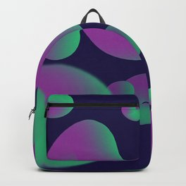 Dope gradient blobs from space Backpack