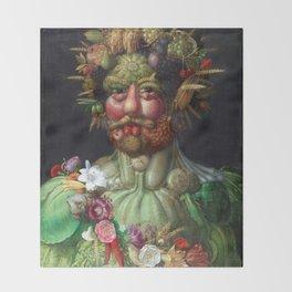 Giuseppe Arcimboldo Vertumnus Throw Blanket
