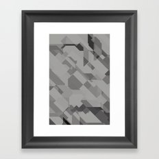 Graphites Framed Art Print