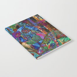 Psychedelic Buddha Notebook