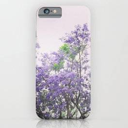 Jacaranda iPhone Case