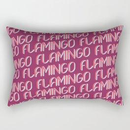 FLAMINGO FLAMINGO FLAMINGO Rectangular Pillow