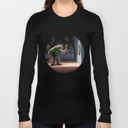 Sloth Darts Long Sleeve T-shirt