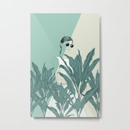 The Blue Nature Metal Print