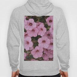 Sweet Pink Flowers (Vintage Petunias) Hoody