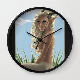 Satyress Wall Clock