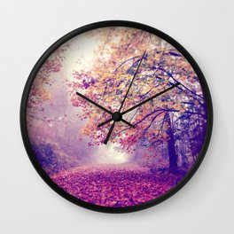 oh darling, lets be adventurous Wall Clock