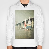 sailing Hoodies featuring Sailing by JMcCool