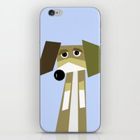 beagle iPhone & iPod Skins featuring Beagle  by They Come Along