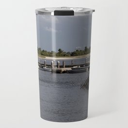 Sunken Ship, Davis Islands, Tampa, FL Travel Mug