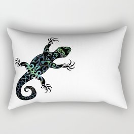 Tuatara Rectangular Pillow