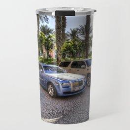 Luxury Cars Dubai Travel Mug