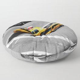 New York Cabs. Floor Pillow