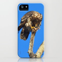 Houdini in Feathers! iPhone Case