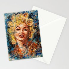 blonde bombshell Stationery Cards