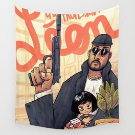 The professional Leon Wall Tapestry