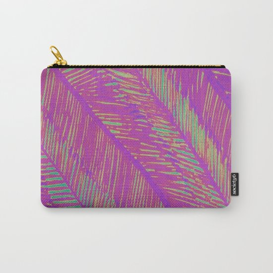 Neon Summer Palms Carry-All Pouch