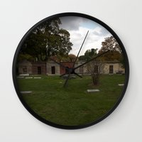 history Wall Clocks featuring History. by Litew8