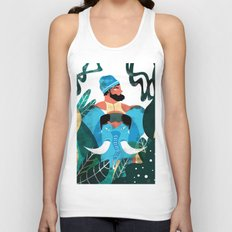 INDIAN ATMOSPHERE Unisex Tank Top