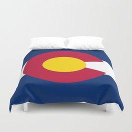 Colorado State Flag Duvet Cover