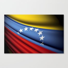 Flag of Venezuela Canvas Print