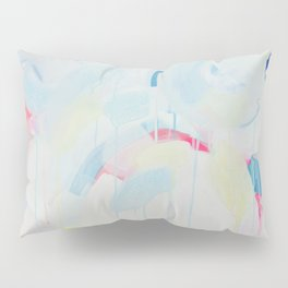 Instant Crush - Abstract painting by Jen Sievers Pillow Sham