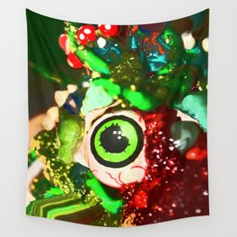 Bad Looking Monsters from Outter Space Wall Tapestry