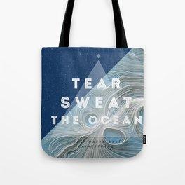 Salt water heals Tote Bag
