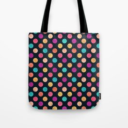 Watercolor Dots Pattern VI Tote Bag
