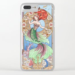 Every Girl Is A Princes 01: Andersen's The Little Mermaid Clear iPhone Case