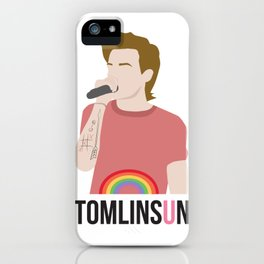 louis tomlinson lgbtq sticker, t-shirts and more iPhone Case